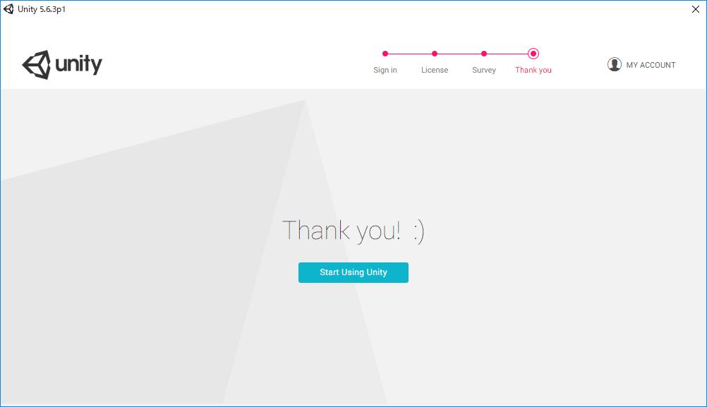 Unityセットアップ5